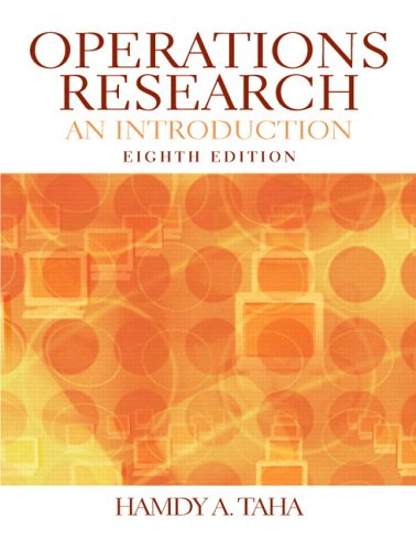 Operations Research An Introduction 8th 2007 (Revised) edition cover