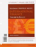 International Finance Theory and Policy, Student Value Edition Plus NEW MyEconLab with Pearson EText (1-Semester Access) -- Access Card Package 10th 2015 edition cover