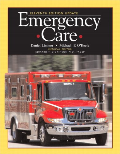 Emergency Care  11th 2009 edition cover