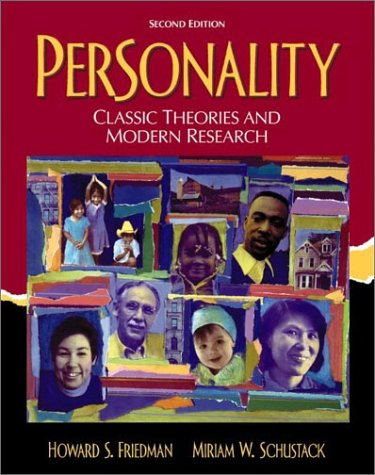 Personality Classic Theories and Modern Research 2nd 2003 edition cover