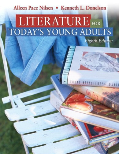 Literature for Today's Young Adults  8th 2009 edition cover