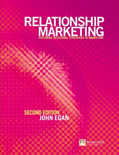 Relationship Marketing Exploring Relational Strategies in Marketing 2nd 2004 (Revised) 9780273686231 Front Cover