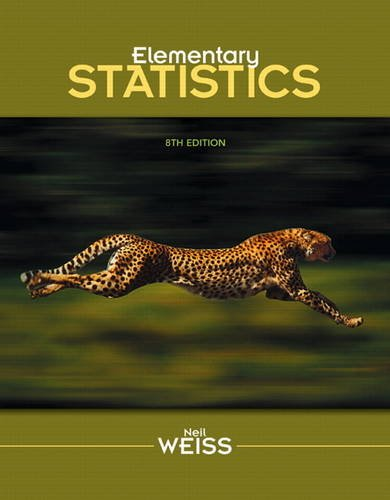 Elementary Statistics  8th 2012 9780321691231 Front Cover