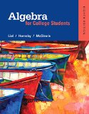 Algebra for College Students Plus Mylab Math -- Access Card Package  8th 2016 9780321969231 Front Cover