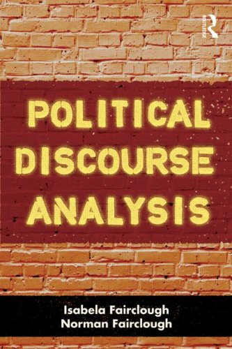 Political Discourse Analysis A Method for Advanced Students  2012 9780415499231 Front Cover
