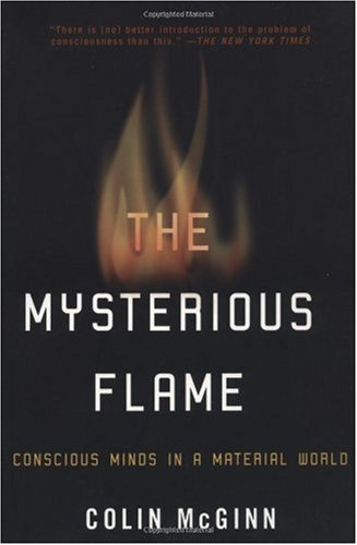 Mysterious Flame Conscious Minds in a Material World  2000 edition cover
