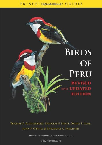 Birds of Peru   2010 (Revised) edition cover