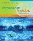 Cengage Advantage Books: Developmental Psychology Childhood and Adolescence 9th 2014 edition cover