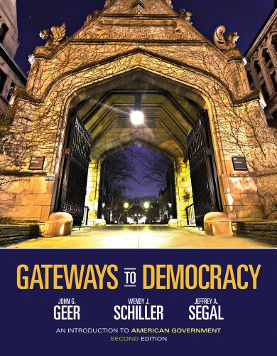 Gateways to Democracy An Introduction to American Government 2nd 2014 edition cover