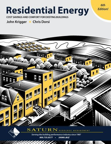 Residential Energy Cost Savings and Comfort for Existing Buildings N/A edition cover