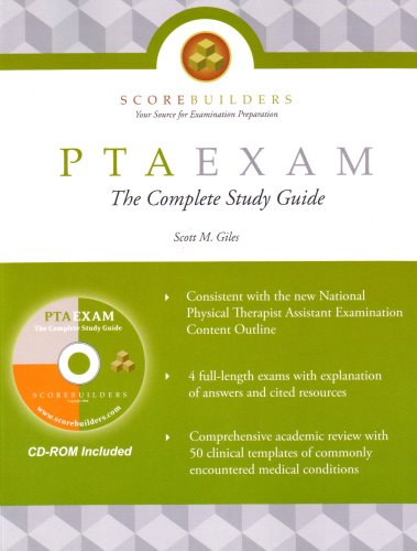 Ptaexam : The Complete Study Guide  2008 edition cover