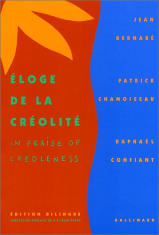 ELOGE DE LA CREOLITE 1st edition cover