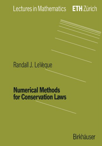 Numerical Methods for Conservation Laws  2nd 1992 (Revised) edition cover