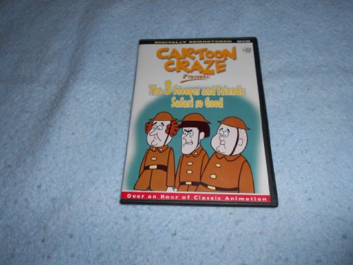The 3 Stooges And Friends: Safari So Good [Slim Case] System.Collections.Generic.List`1[System.String] artwork
