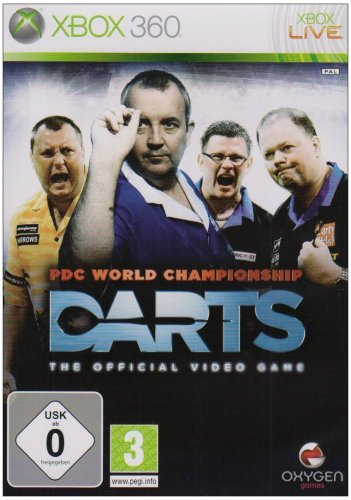 PDC World Championship Darts Xbox 360 artwork
