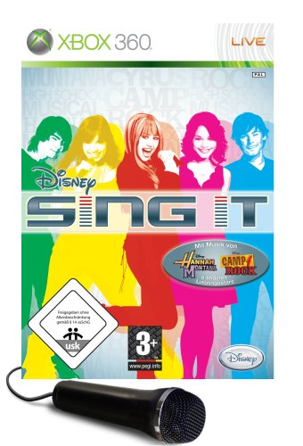 Disney Sing it + Mikrofon Xbox 360 artwork