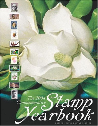 2004 Commemorative Stamp Yearbook  N/A 9780060528232 Front Cover