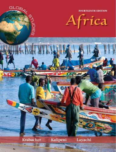 Global Studies - Africa  14th 2013 edition cover