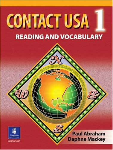 Contact USA Reading and Vocabulary  2005 edition cover