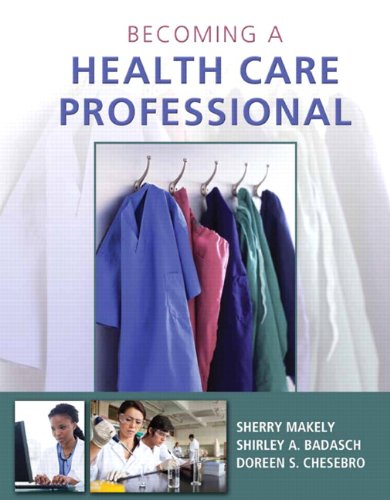 Becoming a Health Care Professional   2014 edition cover