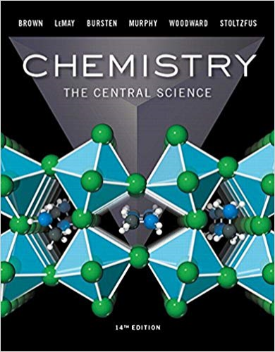 Cover art for Chemistry: The Central Science, 14th Edition