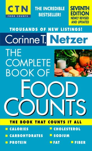Complete Book of Food Counts  7th 2006 edition cover