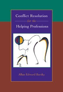 Conflict Resolution for the Helping Professions  2000 edition cover