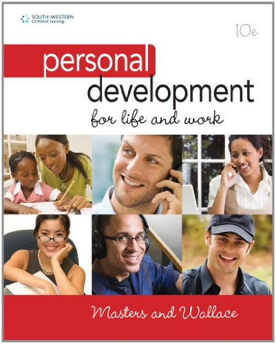 Personal Development for Life and Work  10th 2011 edition cover