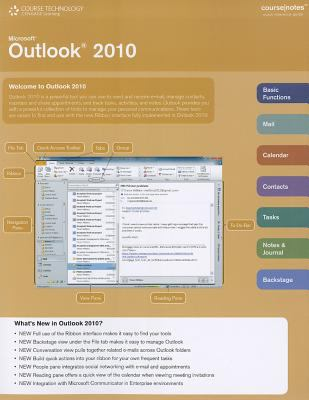 Microsoft Outlook 2010   2011 9780538744232 Front Cover