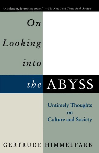 On Looking into the Abyss Untimely Thoughts on Culture and Society N/A edition cover