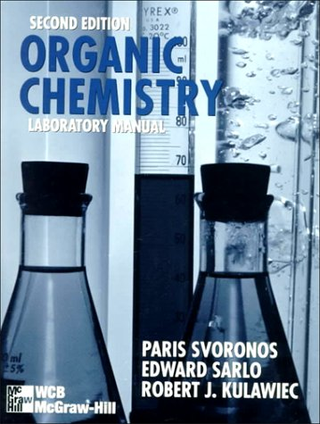 Organic Chemistry Laboratory Manual  2nd 1997 (Revised) edition cover