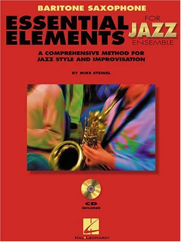 Essential Elements for Jazz Ensemble : Baritone Sax 1st edition cover