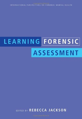 Learning Forensic Assessment   2008 edition cover