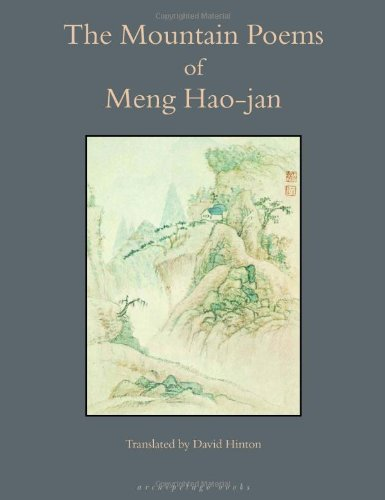 Mountain Poems of Meng Hao-Jan   2004 edition cover