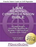 LSAT Reading Comprehension Bible:   2014 edition cover