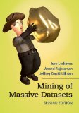 Mining of Massive Datasets  2nd 2014 (Revised) 9781107077232 Front Cover