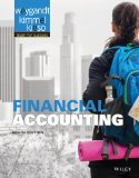 Financial Accounting 9E with WileyPlus Card  N/A 9781118855232 Front Cover