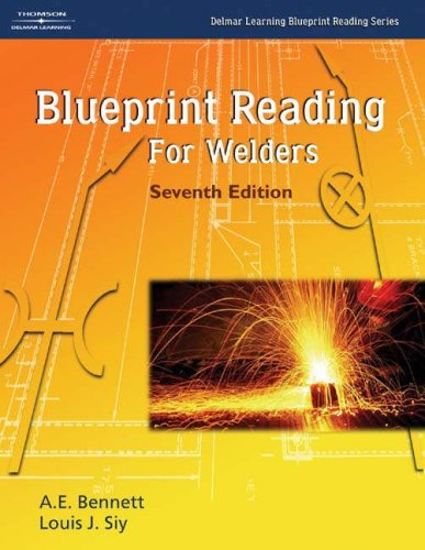 Blueprint Reading for Welders  7th 2005 (Revised) 9781401867232 Front Cover