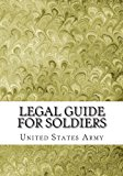 Legal Guide for Soldiers  N/A 9781490948232 Front Cover