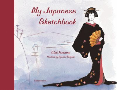 My Japanese Sketchbook  N/A 9782080201232 Front Cover