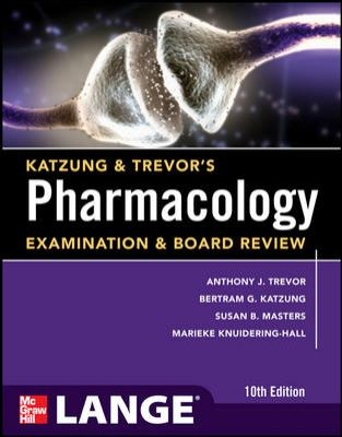 Pharmacology Examination and Board Review  10th 2013 (Revised) edition cover