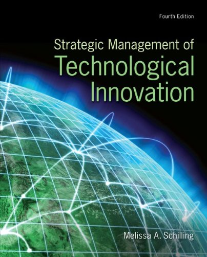 Strategic Management of Technological Innovation  4th 2013 edition cover