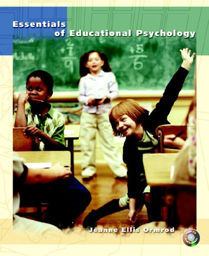 Essentials of Educational Psychology   2006 9780130994233 Front Cover