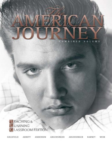 American Journey Teaching and Learning Classoom 5th 2009 (Revised) 9780205739233 Front Cover