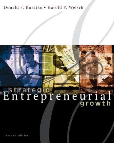 Strategic Entrepreneurial Growth  2nd 2004 edition cover