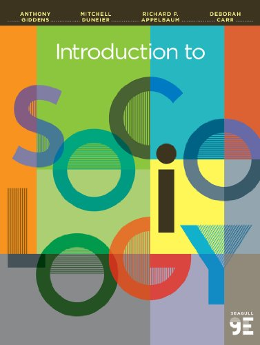 Introduction to Sociology:   2013 9780393922233 Front Cover