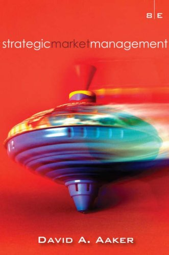 Strategic Market Management  8th 2008 (Revised) edition cover