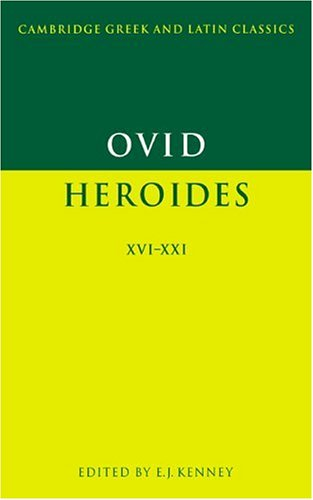 Ovid Heroides XVI-XXI  1996 edition cover