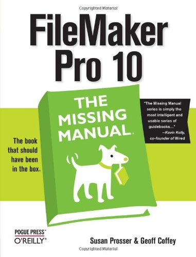 Filemaker Pro 10  2nd 2009 (Revised) 9780596154233 Front Cover