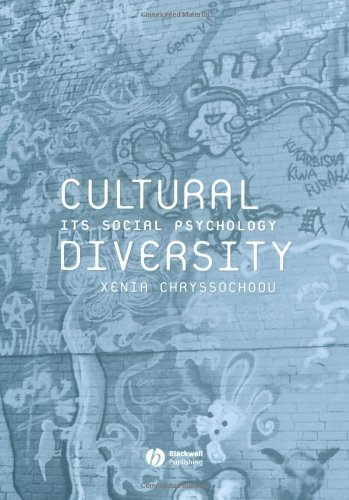 Cultural Diversity Its Social Psychology  2004 edition cover